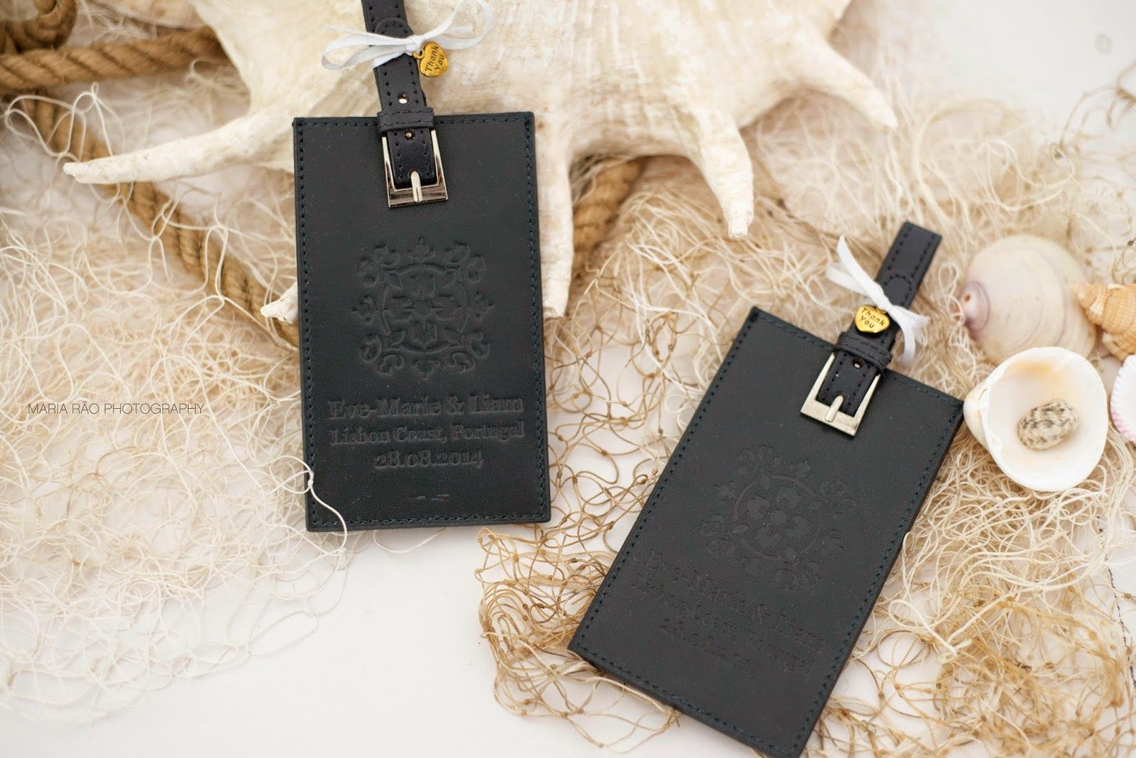 mariaraophotography: Details of Portugal luggage tag favors