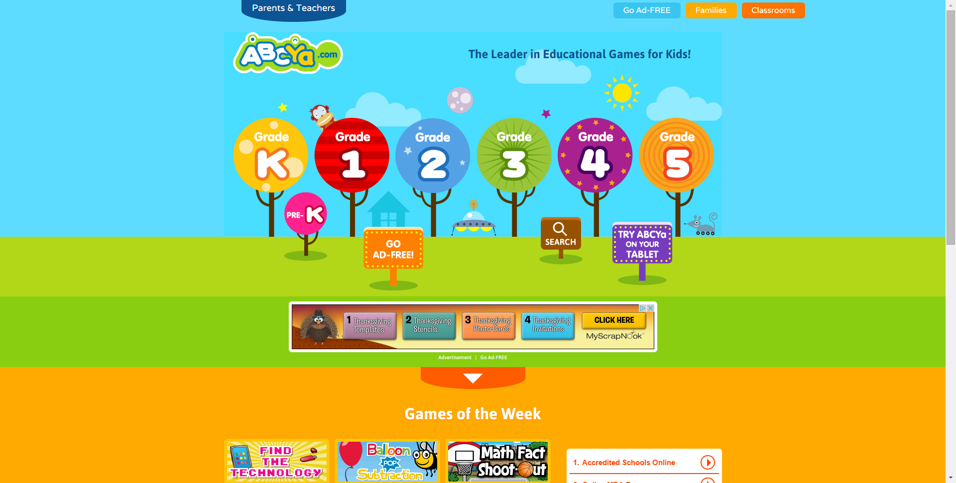 Abcya Educational Computer Games And Apps For Kids