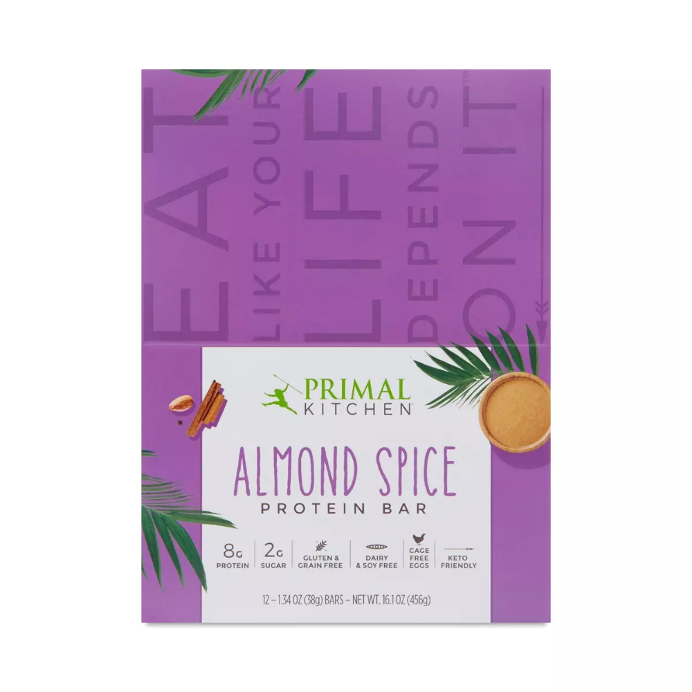 Paleo Friendly Protein Bars Feature Almond Spice And Everything Nice Like Coconut Oil Flaxseed And Cage Free Eggs Stock U Protein Bars Primal Kitchen Spices
