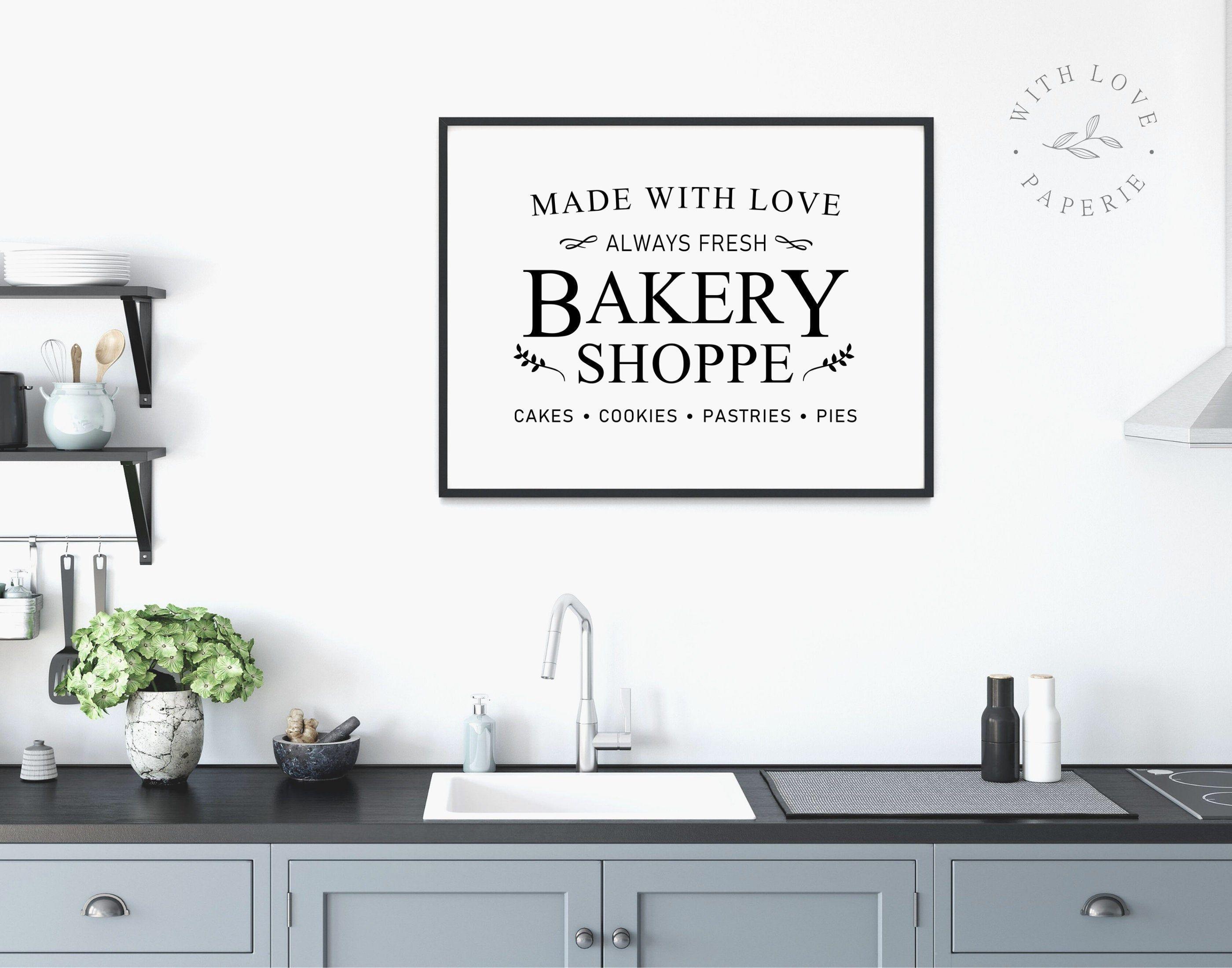 Bakery Sign Farmhouse Decor Bakery Cafe Sign