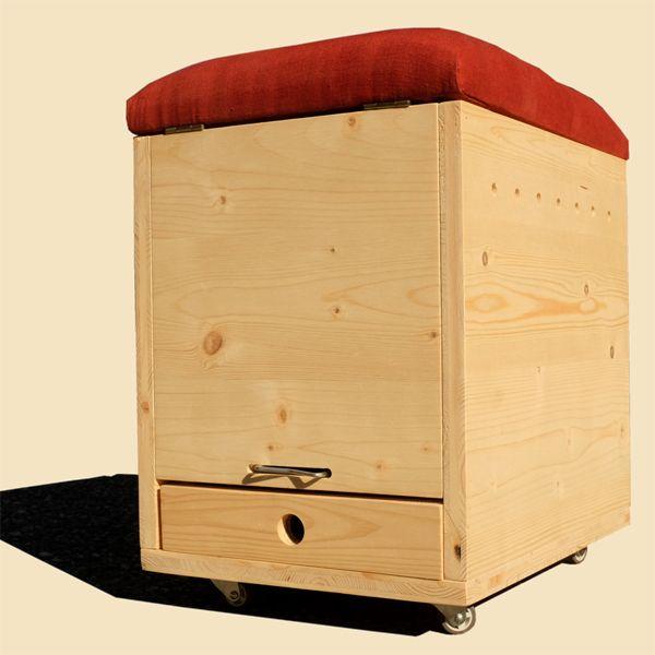 wurmkomposter bauset mit oder ohne sitz wohnwagon wege. Black Bedroom Furniture Sets. Home Design Ideas