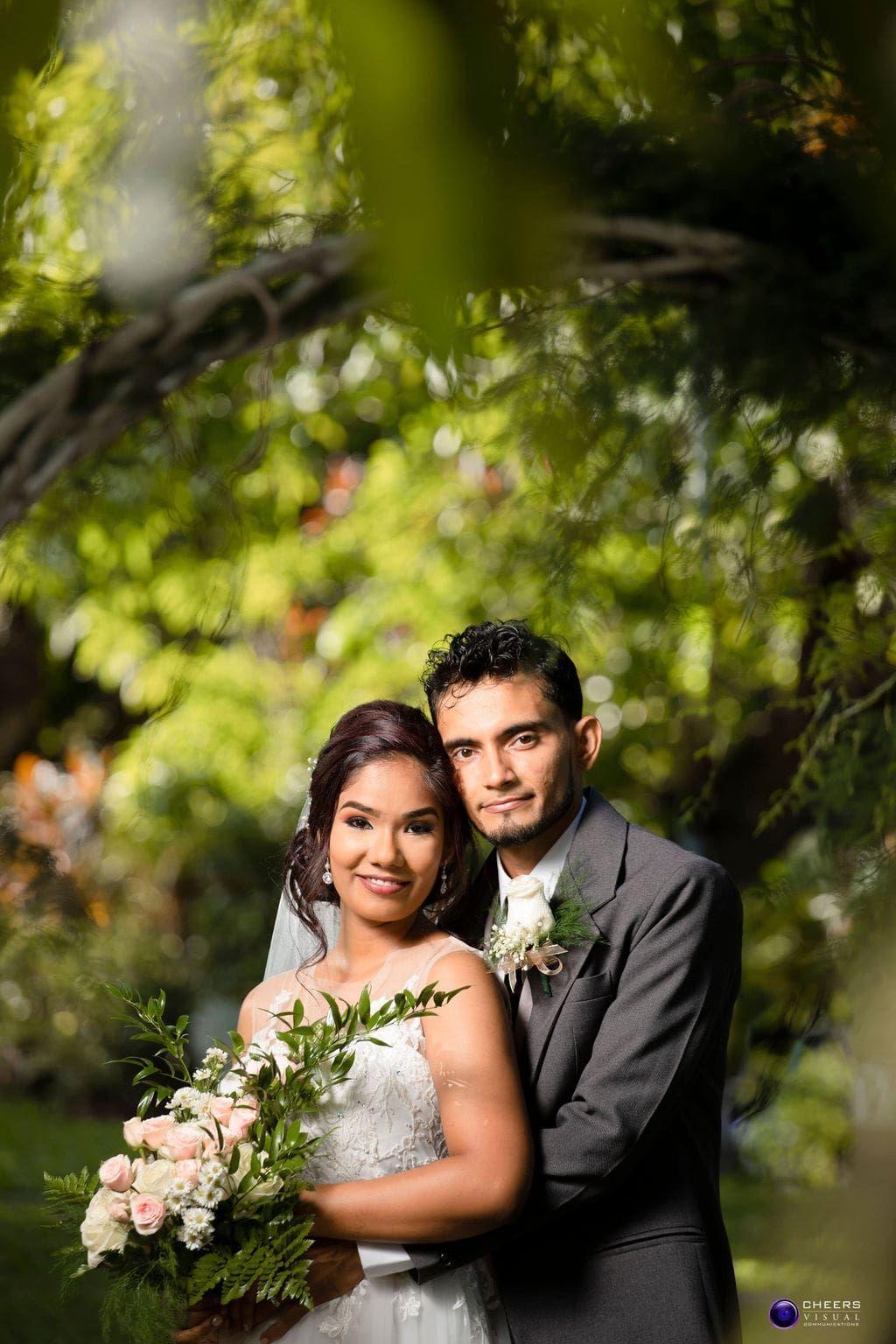Rianne Heera S Sweet Outdoor Wedding In Trinidad Tobago Destination Wedding Accessories Outdoor Wedding East Indian Wedding