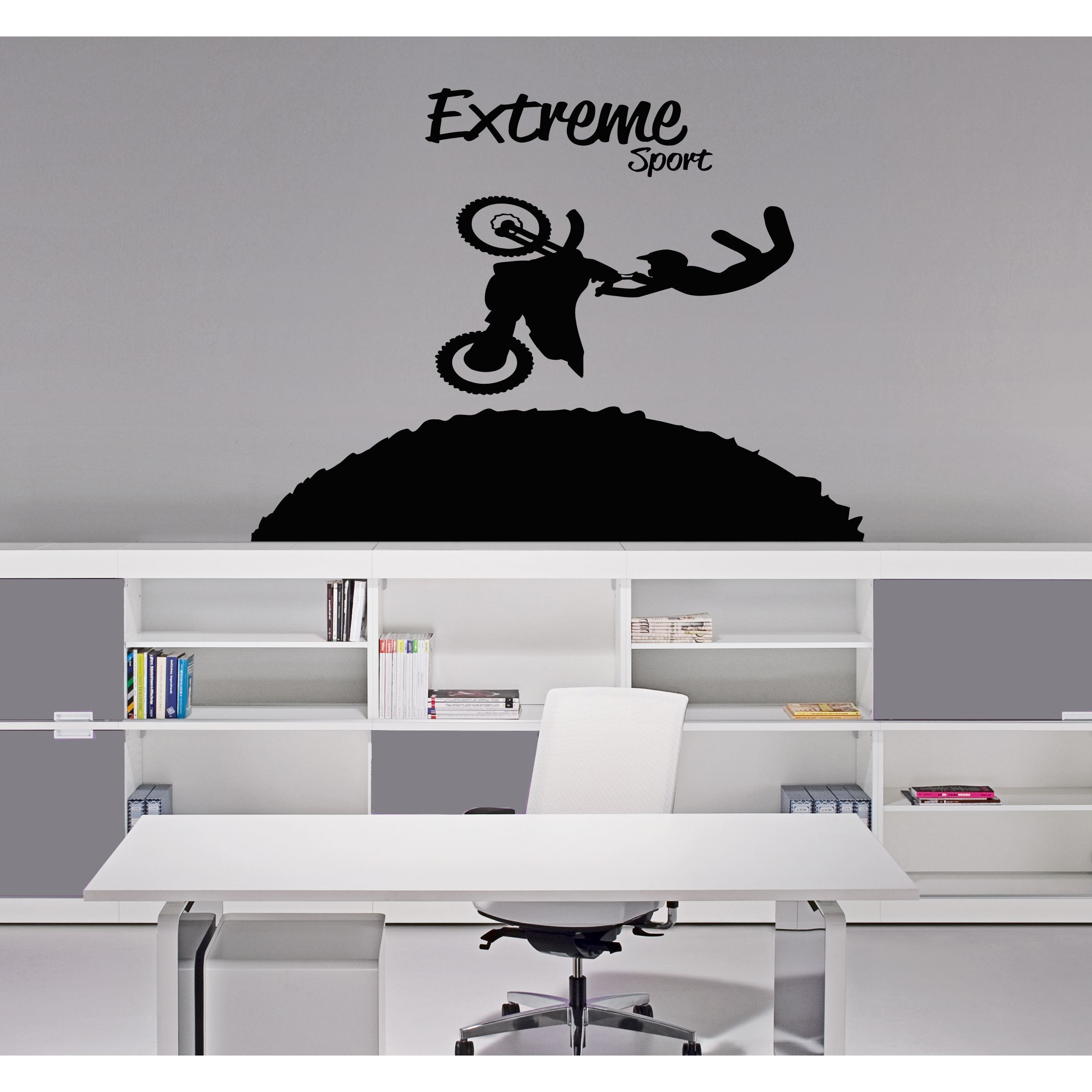 Extreme sports bike wall art sticker decal extreme sports