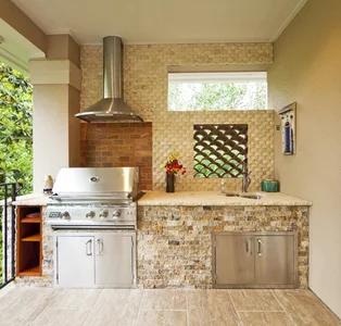 Best Of Houzz Award Winners In 2021 Small Outdoor Kitchens Patio Kitchen Outdoor Kitchen Design