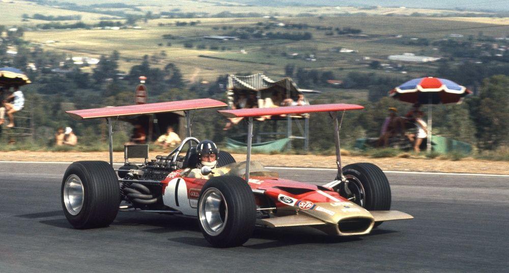 Kyalami South Africa Graham Hill Lotus 48B Ford 1969   Vintage ...