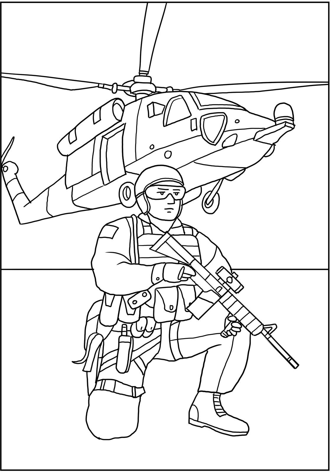 Navy Seals Military Coloring For Kids Soldier Drawing Army Drawing Military Drawings