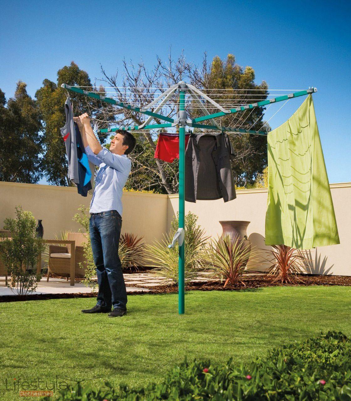 hills hoist 6 line clothesline rotary