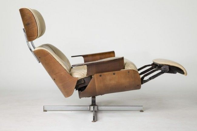 Marvelous 354: Eames Style Modern Reclining Lounge Chair : Lot 354 | CHAIR FURNITURE  DESIGN | Pinterest | Lounge Chairs, Modern And Interiors