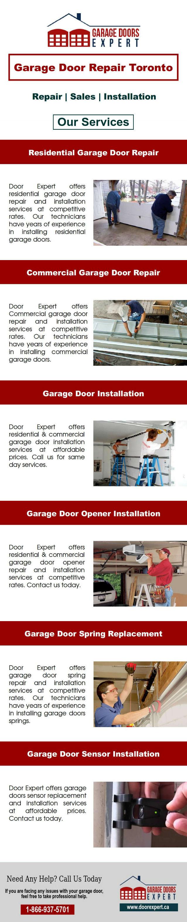 Toronto Garage Door Repair Services Door Expert Garage Door
