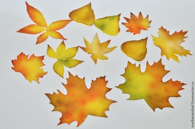 Crear hojas de otoño de foamirana: Parte 1 - Maestros Feria - hecho a mano, hecho a mano