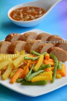 Happy Weekend Mari Masak Galantin Komplet Aja Yummy Resep Masakan Makan Malam Masakan