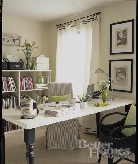 Until Tomorrow Bhg Almost Shabby Chic White Desk Black Turned Legs