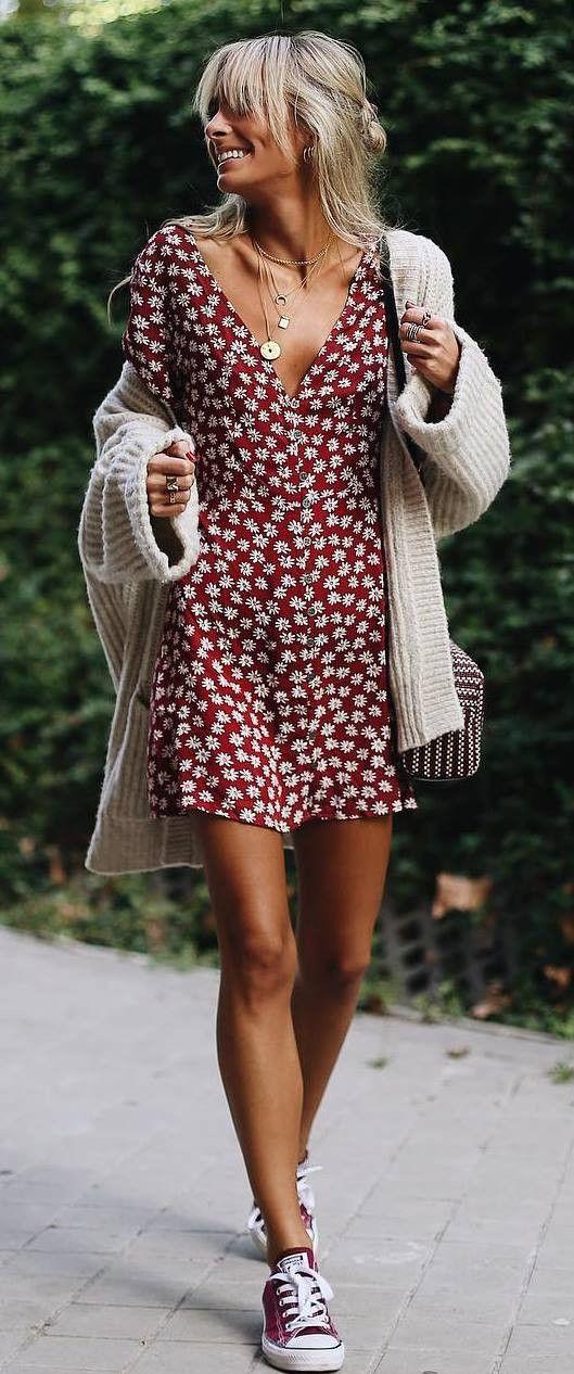 35 Schicke Casual Outfit Ideen für Herbst Sommer