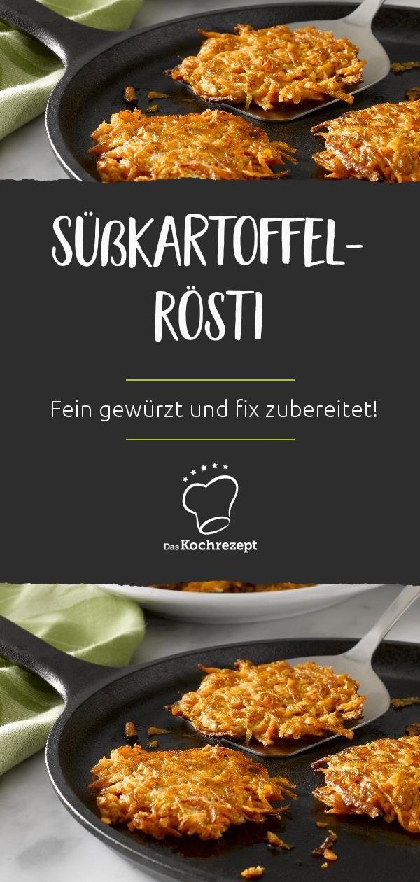 Süßkartoffel-Rösti #vegetarischerezepte