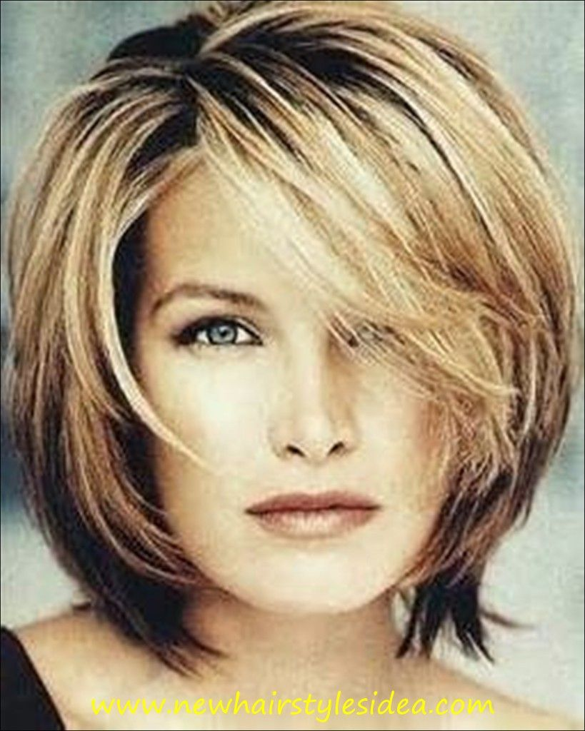 Medium Length Hairstyles For Thick Hair Fair Short Blonde Hairstyles Over 40 40  Hfmuldearygmail