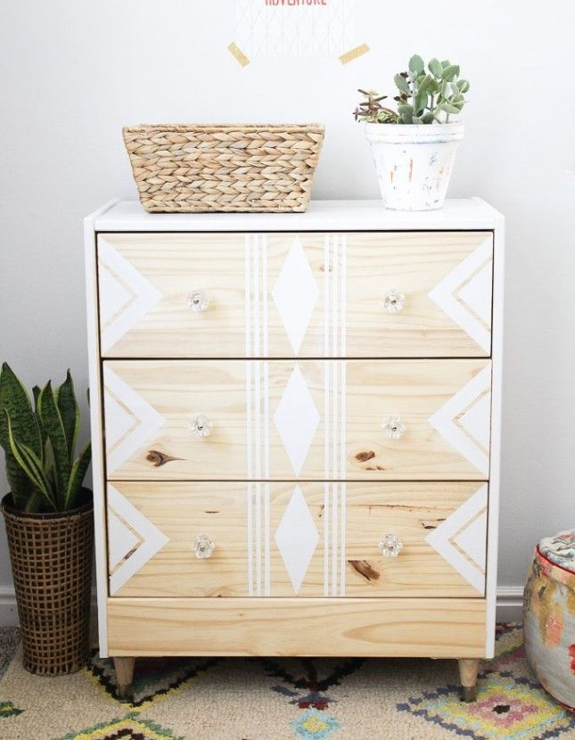 All you need is white paint for this easy IKEA upgrade.