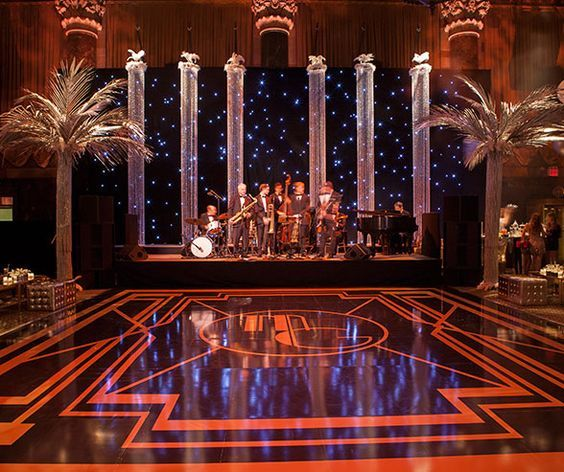 Great Wedding Reception Ideas: How Chic Is This Costume Designed Dancing Floor Of This