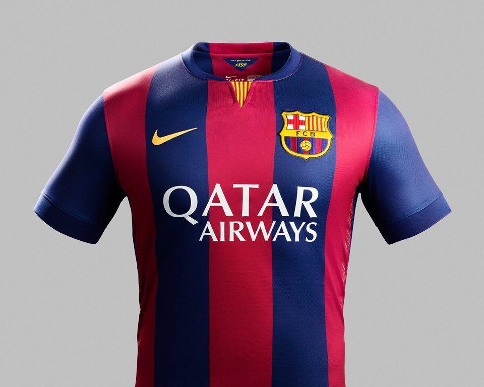 edc09fd92 Nice Day Sports  Barcelona home soccer jersey football kit 2014 15 .