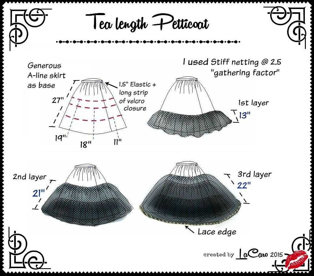How to sew a petticoat 9