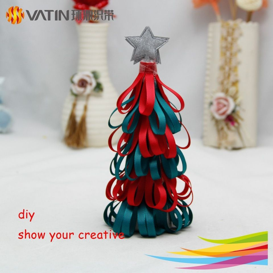New Product China Manufacturer Wholesale 20cm Diy Ribbon Christmas ...