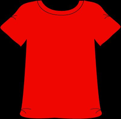 Red Tshirt Red Tshirt Clip Art Kids English