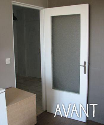 relooker une porte dans un esprit industriel cuisine. Black Bedroom Furniture Sets. Home Design Ideas