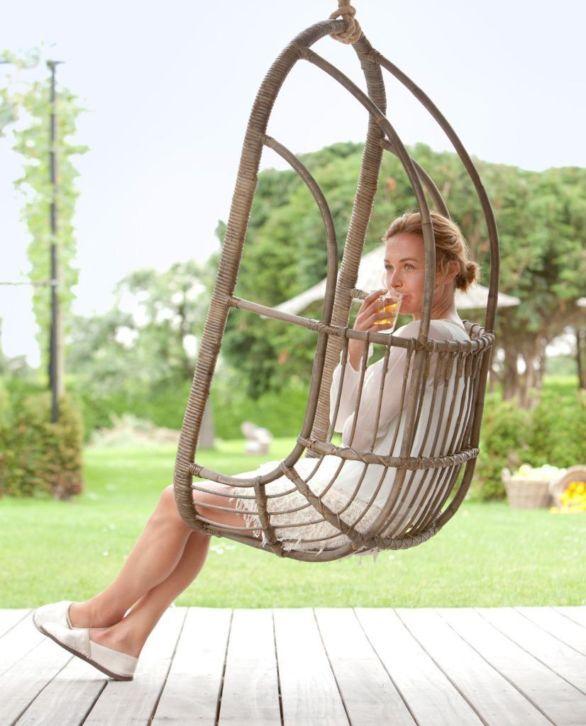 Hangstoel Incl Standaard.In De Tuin Hangstoel Incl Kussens Met Standaard Geschikte Boom