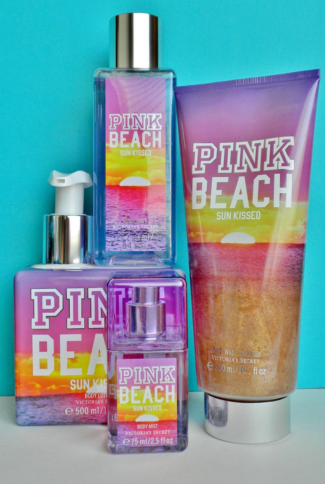 Isle Of Pink Shimmering Fragrance Mist Victorias Secret Para Damas