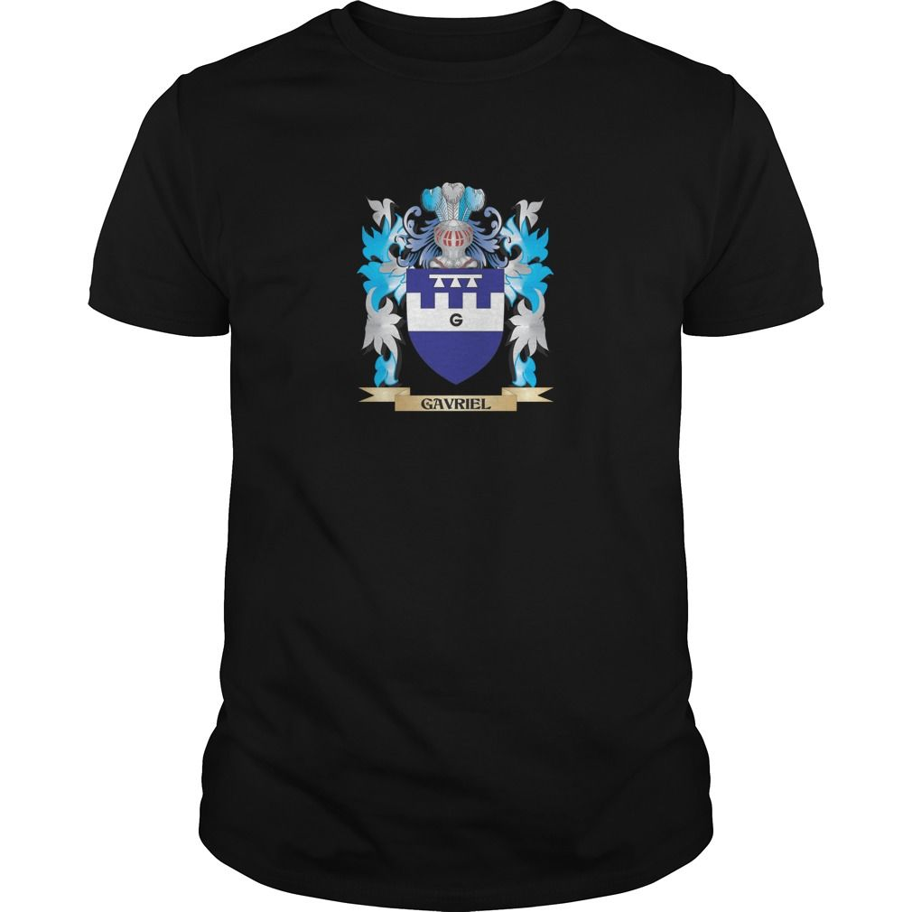 Gavriel Coat of Arms - Family Crest. The perfect gift for your Gavriel. Thank you for visiting my page. Please share with others who would enjoy this shirt. (Related terms: Gavriel,Gavriel coat of arms,Coat or Arms,Family Crest,Tartan,Gavriel surna...)