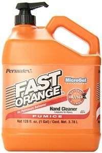 amazon 1 gallon permatex fast orange pumice lotion hand cleaner w