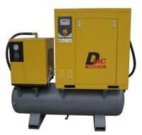 3 In 1 Screw Compressor With Air Dryer On Tank Pack15 Ta China