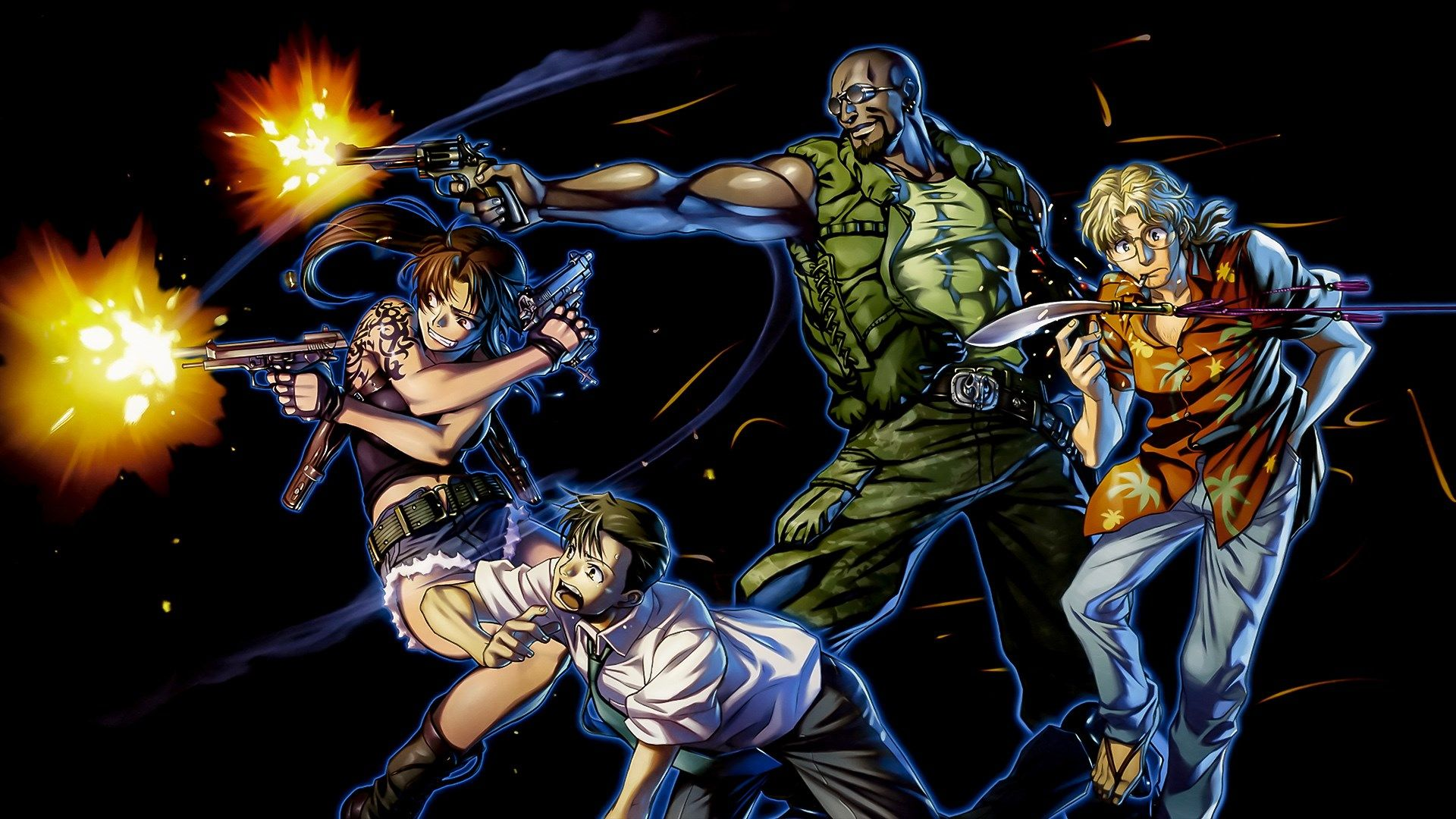 Black Lagoon Wallpaper Background Hd Oswald Brian 1920x1080