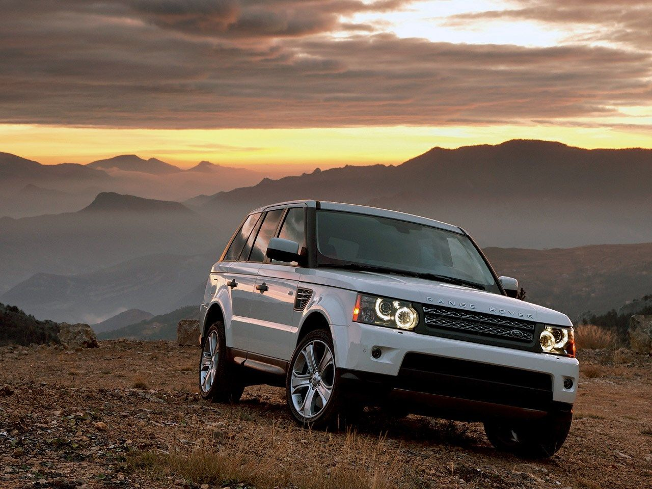 hd land rover range rover supercharged wallpaper | ololoshenka