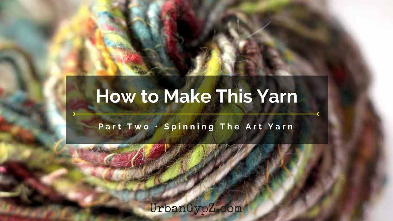 How To Spin Art Yarn This Is A Video Answer To Question Posted In My