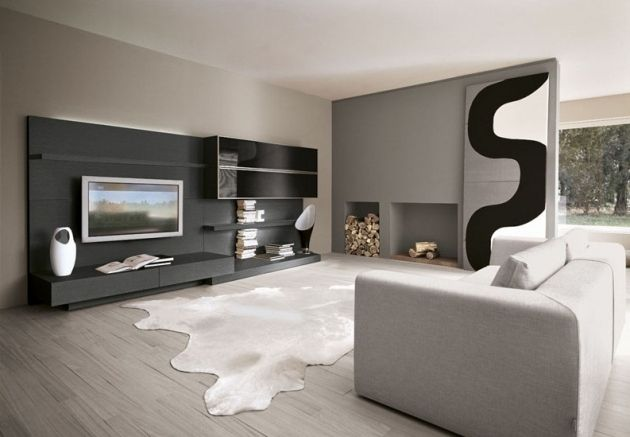anthrazit grau und schwarz als ein ensemble aus formen und farben inszeniert wohnideen. Black Bedroom Furniture Sets. Home Design Ideas