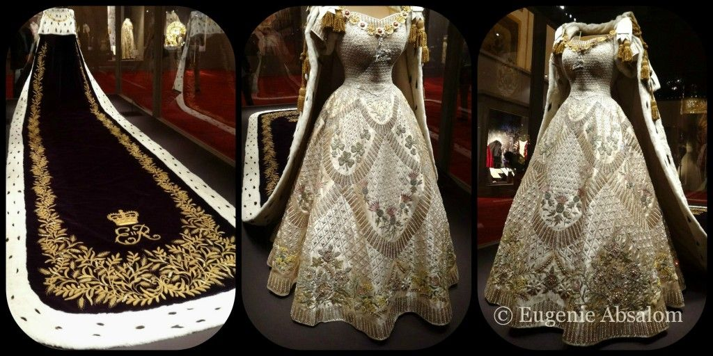 The Queens Coronation Dress and Coronation Robe 1953 © Eugenie ...