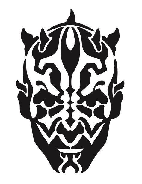 Star Wars Darth Lembro Stencil Art Free Stencils