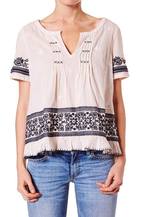 **Odd Molly - Bluse - 623 Cypress ss blouse