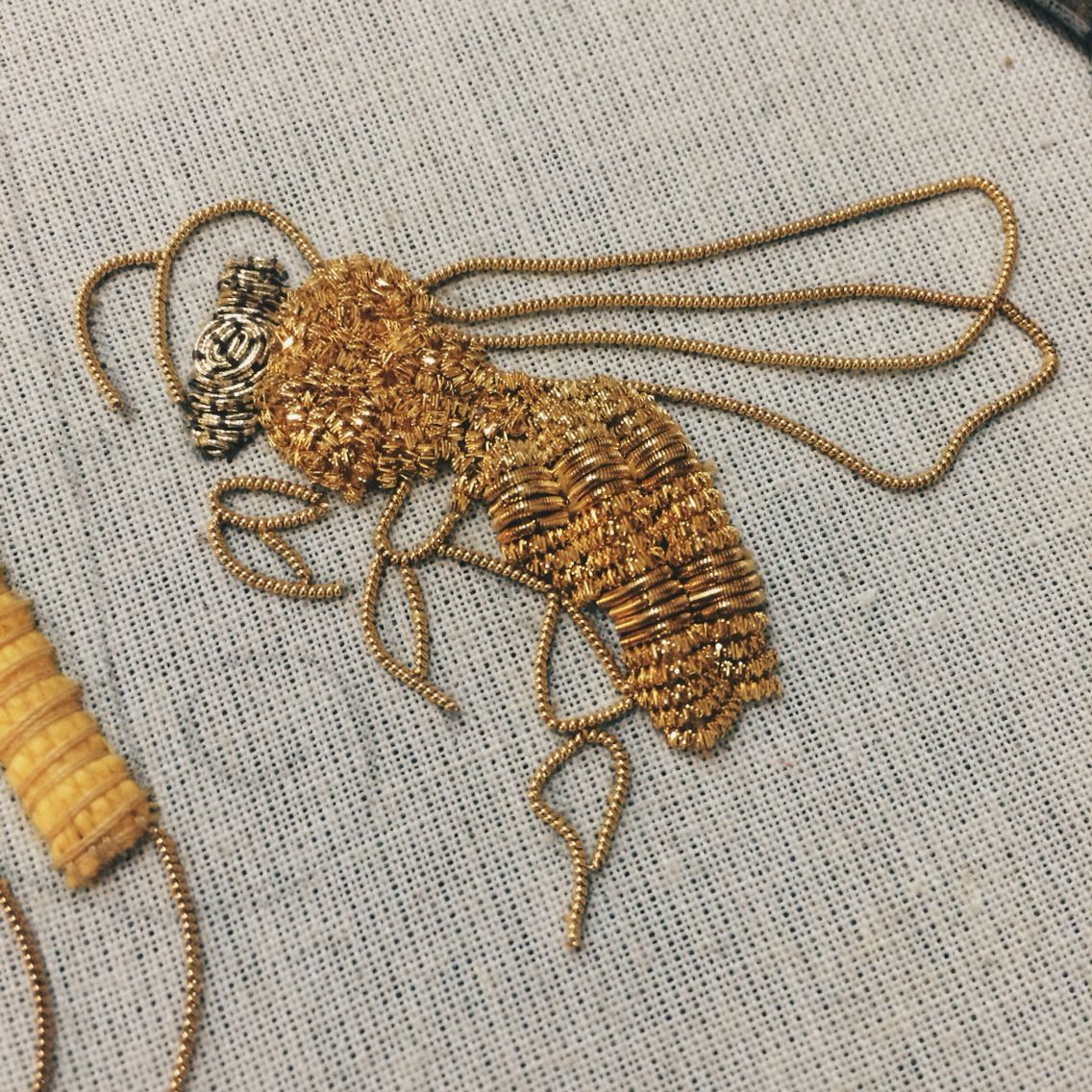 Own Goldwork design - first attempt
