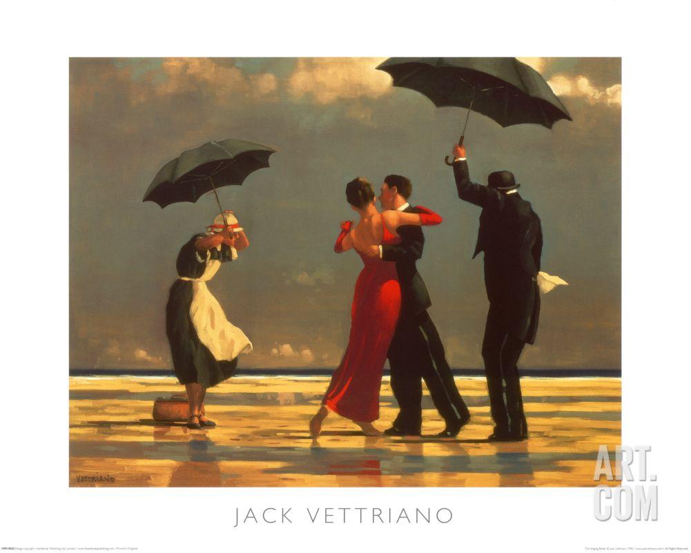 Bad Girl 40x50 cm Art Print Bad Boy jack Vettriano