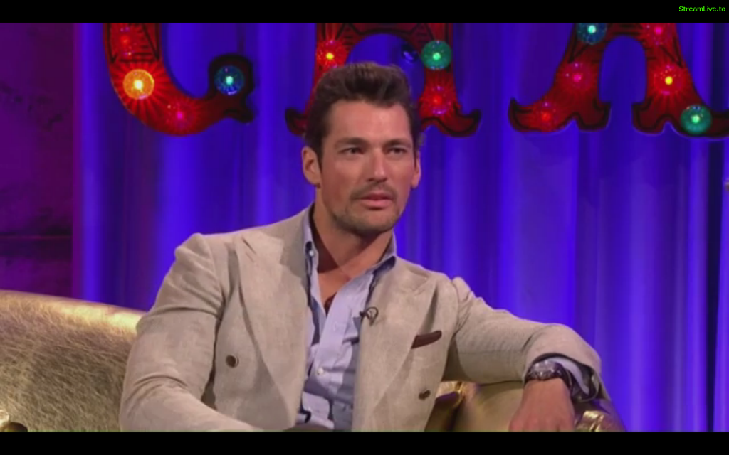 .@DGandyOfficial on @chattyman talking modelling, meeting the queen @BDCH , designing for @marksandspencer and more