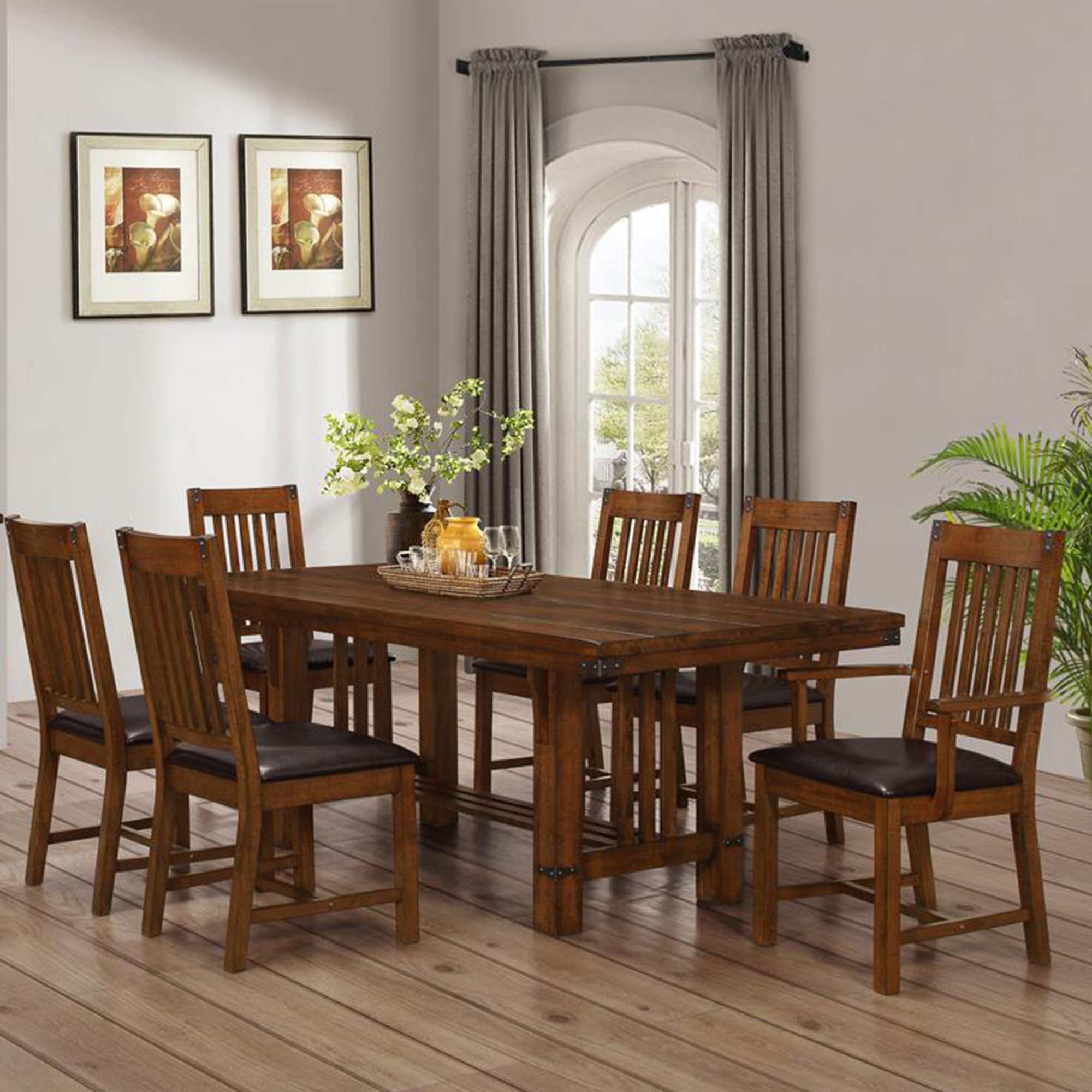 New Craftsman Table and Stool Set