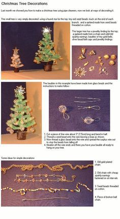 100 Miniature Christmas Tutorials #dollhouseminiaturetutorials