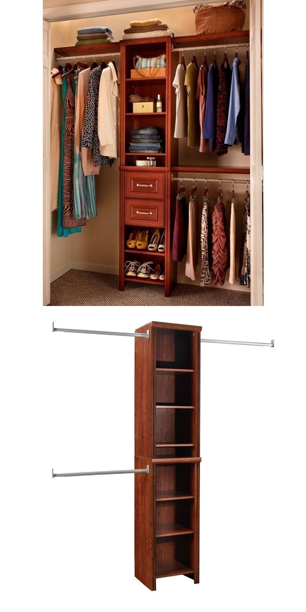 High Quality Closet Organizers 43503: Bedroom Closet Organizer Storage Rack Shelves  Clothes Narrow Wardrobe Closetmaid  U003e