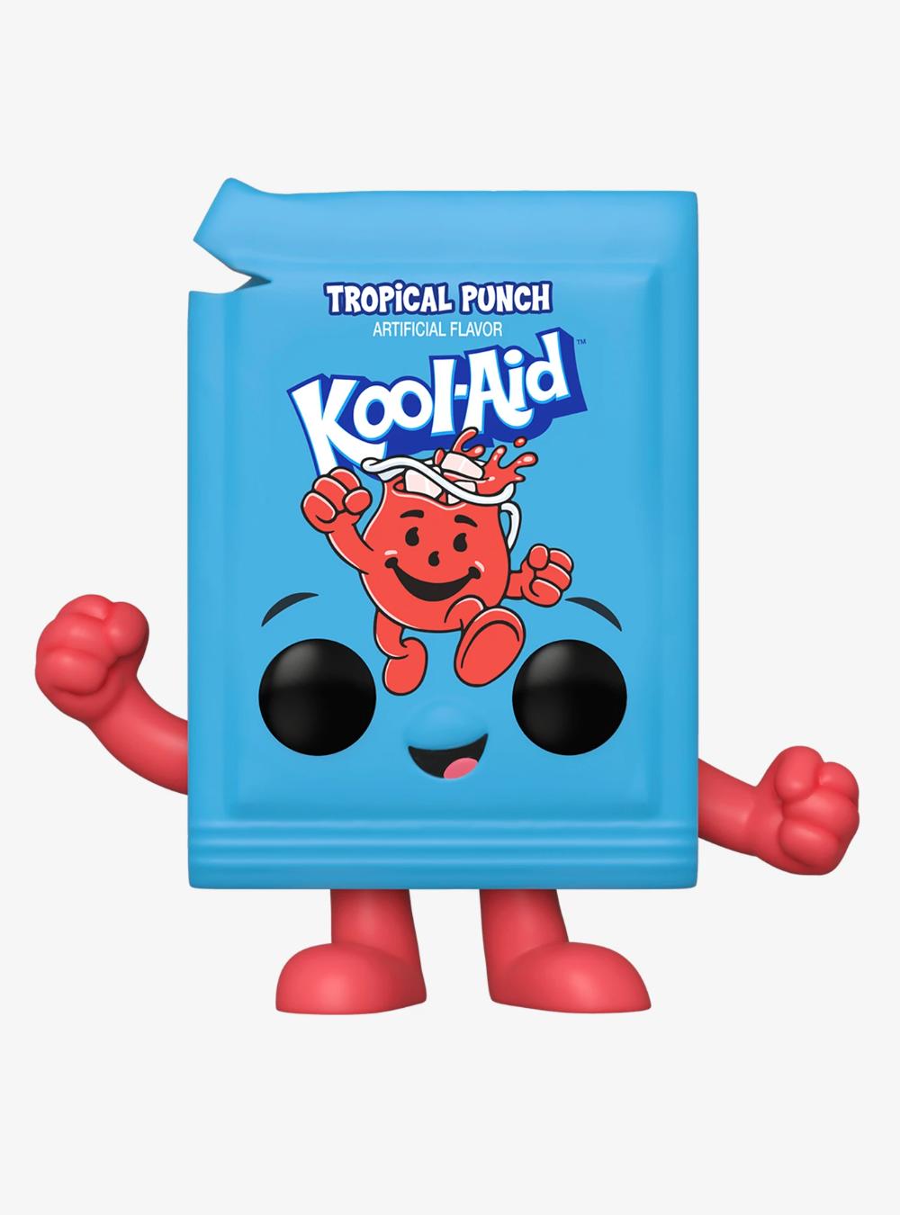 Funko Kool Aid Pop Ad Icons Kool Aid Packet Tropical Punch Vinyl Figure Hot Topic Exclusive Vinyl Figures Tropical Punch Kool Aid