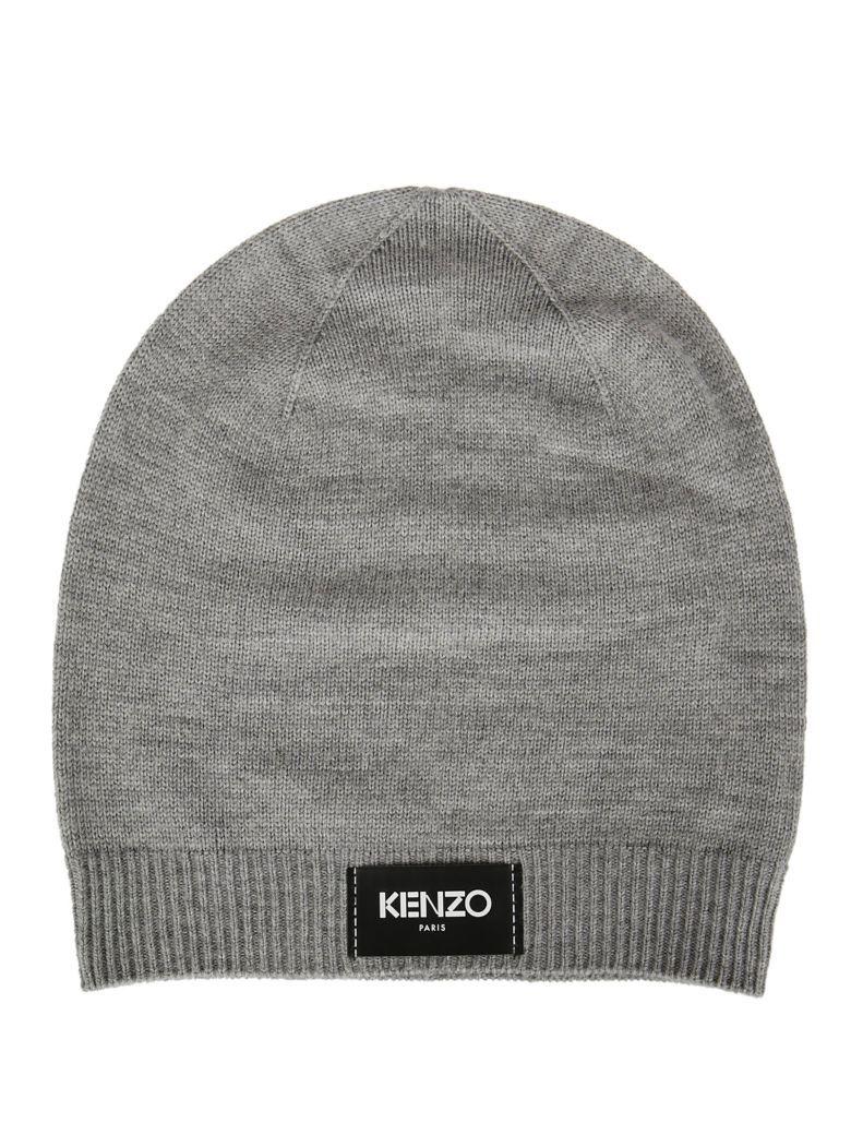 0901ec4f KENZO Kenzo Logo Patch Beanie. #kenzo # | Kenzo Men