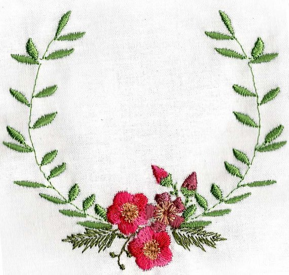 WATERCOLOUR BORDERS 1 Machine embroidery Designs | Products ...