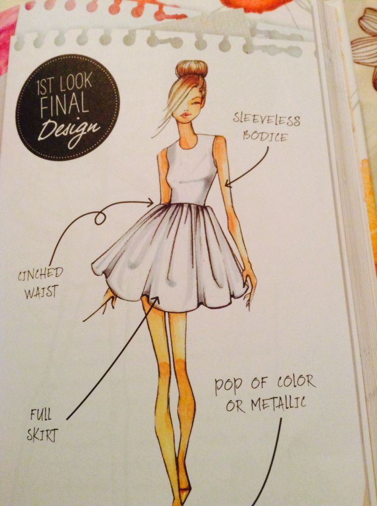 1st look final design from the book Chloe by Design Making the cut You  should read! 1d2f89287159