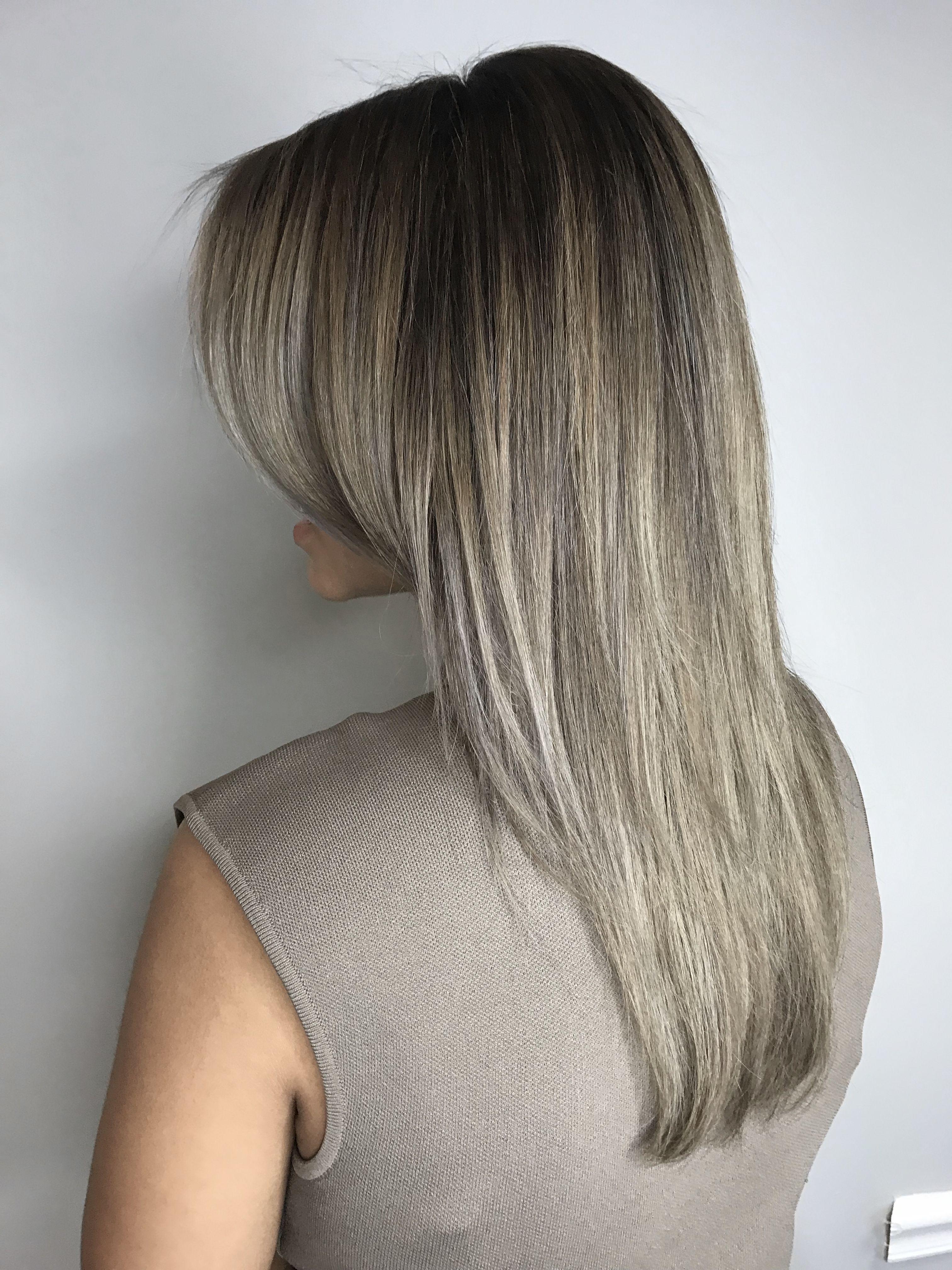 Home Ubu Color Salon In Tampa Fl Dark Hair With Highlights Balayage Hair