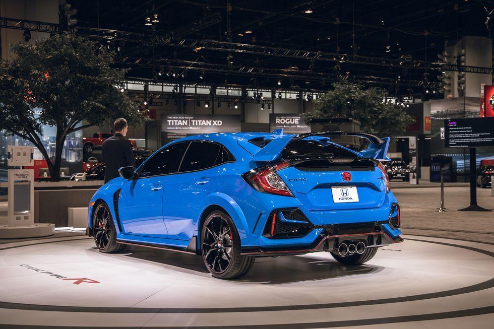 View Photos of the 2020 Honda Civic Type R in 2020 Honda